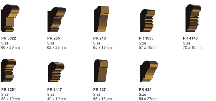 Annandale Timber Moulding Co Pty Ltd Product Range Picture Rails